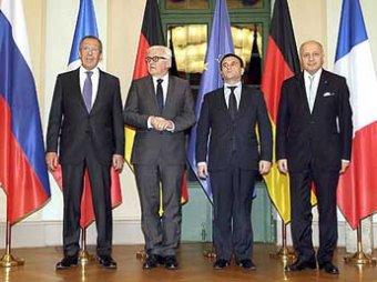 «Нормандская четверка» в Берлине договорилась об отводе вооружений с границ Донбасса