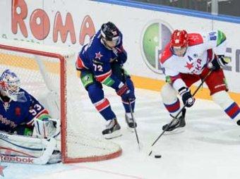 СКА разгромил ЦСКА в плей-офф Кубка Гагарина