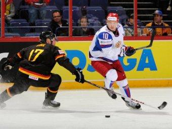 Россия всухую обыграла Германию в хоккейном матче Евровызова (видео)
