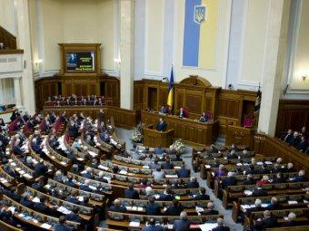 Спикер украинской Рады подписал документ о введении санкций против Путина