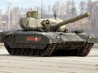 СМИ: Российский танк Т-14 «Армата» станет главной изюминкой на параде Победы в Москве