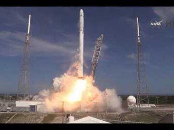Американская компания SpaceX провалила посадку первой ступени ракеты Falcon 9