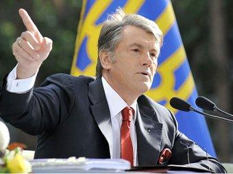 Ющенко сравнил Украину с назойливой мухой