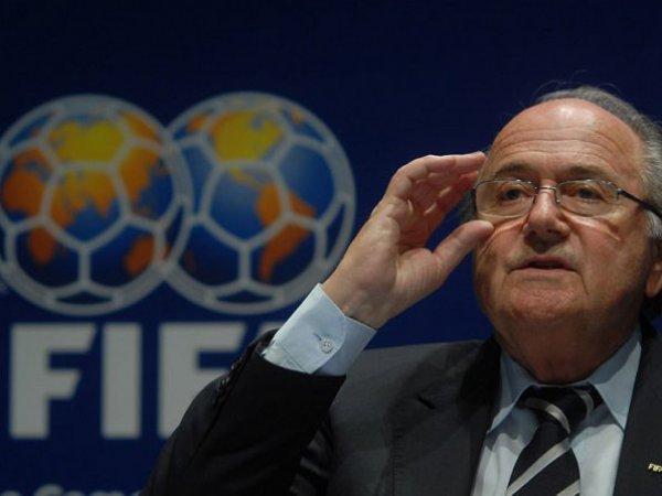 Президент ФИФА Блаттер выступил с заявлением по скандалу о коррупции