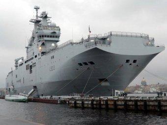 """Французский политик признал, что сделка по """"Мистралям"""" была сорвана из-за США"""