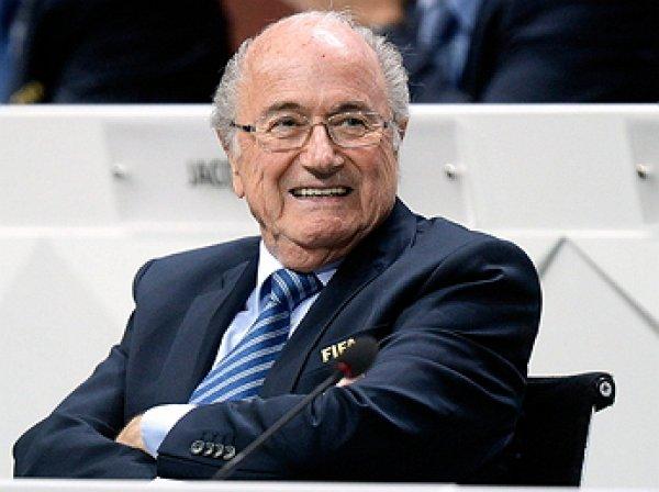 Зепп Блаттер переизбран на 5-й срок президентом ФИФА
