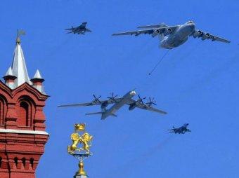 Генеральная репетиция парада Победы 2015 в Москве проходит 7 мая (ВИДЕО)