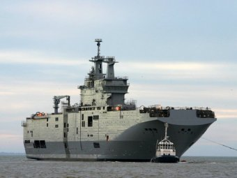 """ИноСМИ: Франция затопила Мистраль """"Владивосток"""", построенный для России (фото)"""