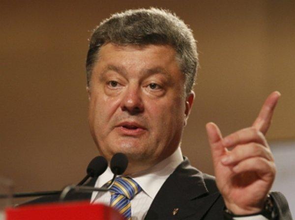 Порошенко подписал закон о моратории на выплату внешних долгов