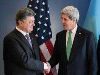 Керри предостерёг Порошенко от попыток отбить донецкий аэропорт