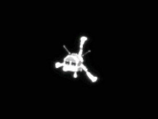 Зонд Philae вышел на связь с кометы Чурюмова-Герасименко