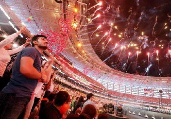 Европейские игры 2015 стартовали в Баку (видео)