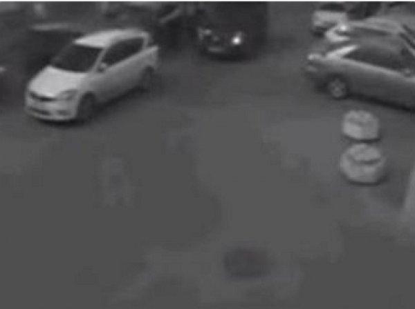 В Сети опубликовано видео погони в центре Москвы