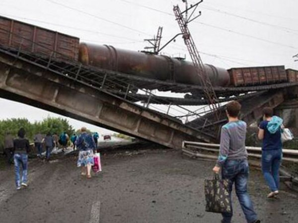 Новости ДНР 24 июля 2015: ополченцы заявили, что силовики с февраля совершили почти 40 терактов на железной дороге (ВИДЕО)