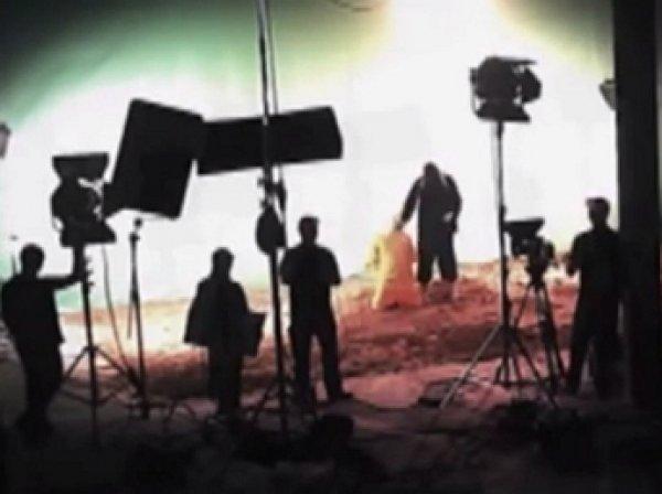 «Кибер-Беркут»: Казнь заложника ИГИЛ снимали в кинопавильоне