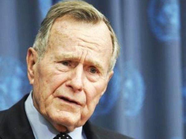 Джордж Буш-старший сломал шейный позвонок