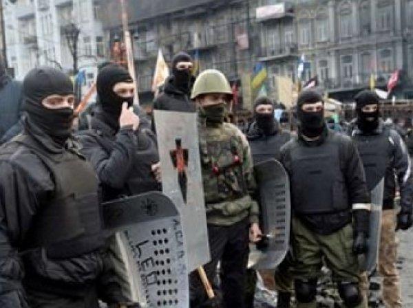 «Правый сектор» проводит митинг на Майдане с лозунгом «Долой власть предателей!»