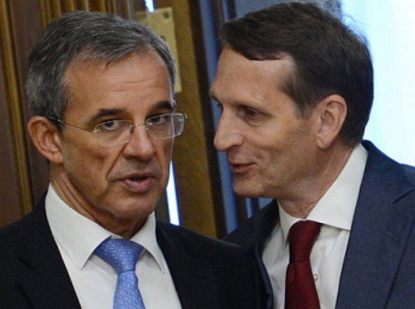 Французские депутаты прибыли с визитом в Крым