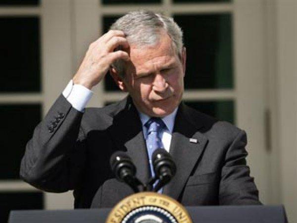 СМИ опубликовали фото первой реакции Буша на теракт 11 сентября