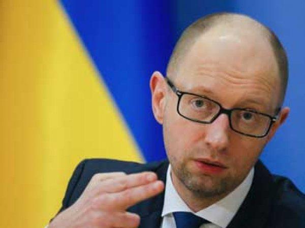 Яценюк обвинил Россию в пропаганде в стиле Геббельса и желании захватить Украину