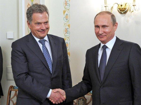 Президент Финляндии позвонил Путину из-за скандала с Нарышкиным