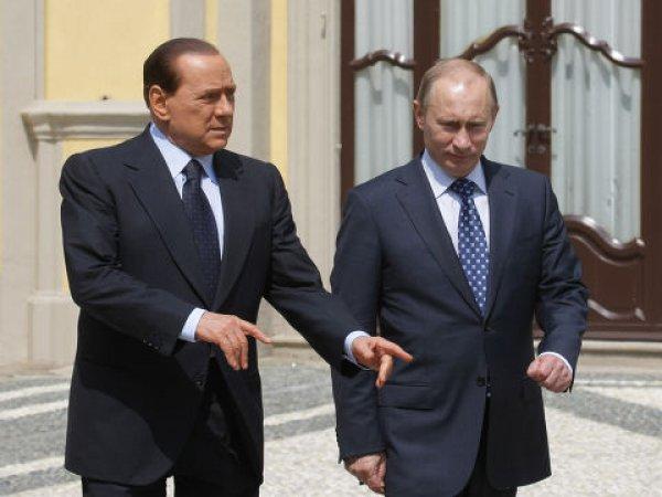 СМИ: Берлускони заявил, что Владимир Путин предлагал ему пост министра