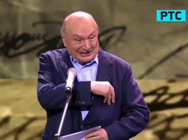 Жванецкий на ТЭФИ 2015 высмеял российское ТВ и был вырезан из эфира (видео)