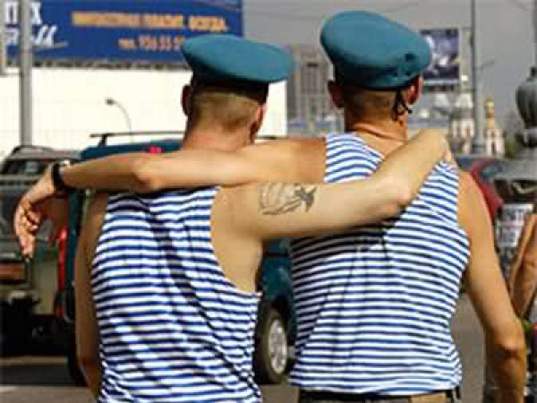 В День ВДВ 2 августа 2015 десантники пообещали не избивать геев
