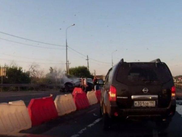 В Сети опубликовали видео ДТП, в котором погиб единственный сын актрисы Ольги Понизовой