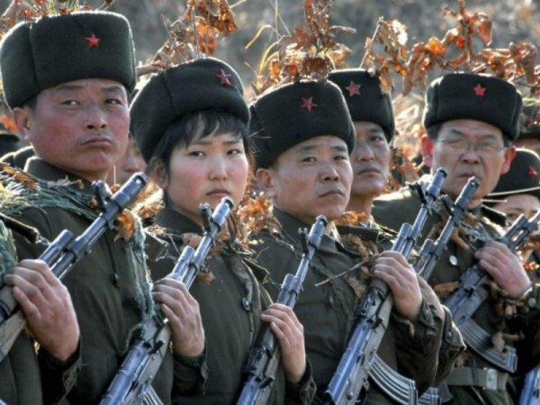 Военные КНДР расстреляли портрет президента Южной Кореи на учениях