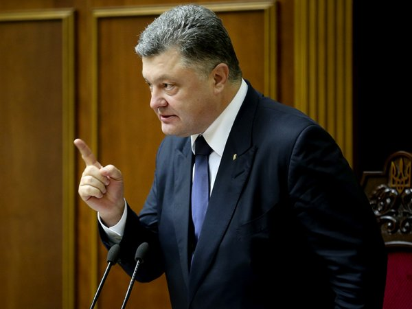 Пётр Порошенко пообещал новый статус Крыму