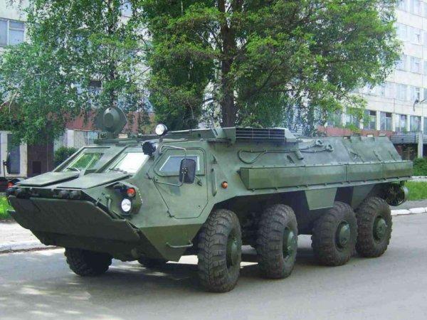 В Чите задержали двух пьяных солдат, катавшихся по городу на БТР