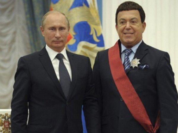 Путин помог Кобзону в обход санкций полететь лечиться в ЕС