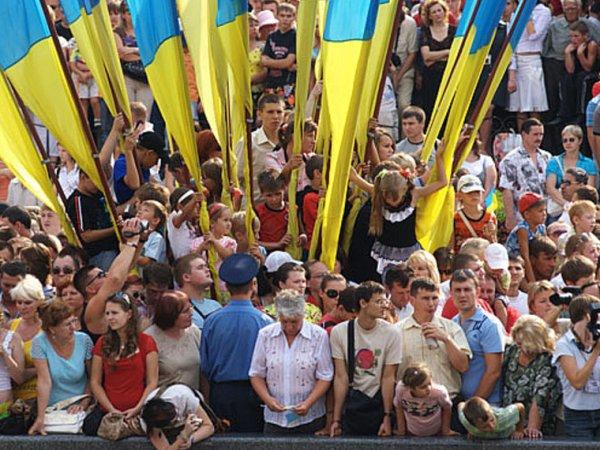 День независимости Украины 2015 отметили парадом в Киеве (видео)