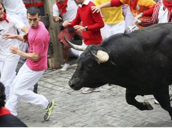 В Испании мужчина погиб в попытке сделать селфи с разъяренным быком