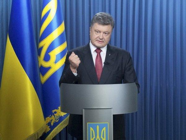 Порошенко обратился к нации в связи с беспорядками в Киеве