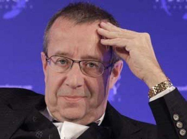 Президент Эстонии Ильвес заразился боррелиозом после укуса клеща