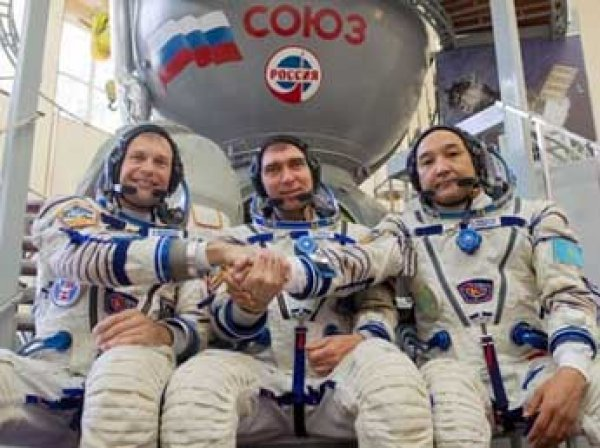 "Юбилейный ""Союз"" вышел на орбиту и взял курс на МКС"