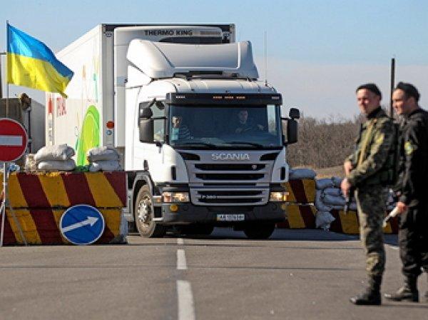 Крымские татары перекрыли въезд в Крым, объявив о продовольственной блокаде