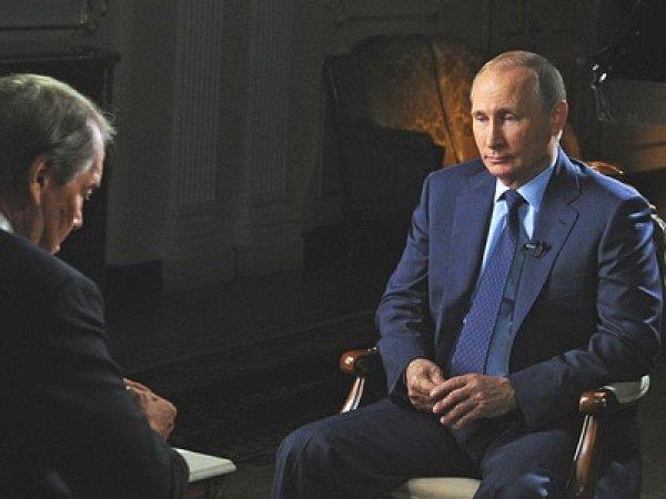 Путин в интервью CBS рассказал о роли США в свержении Януковича (видео)