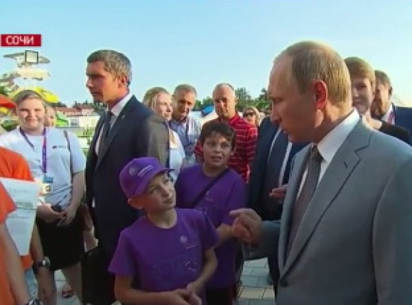 Путин объяснил 11-летнему мальчику о причинах падения курса рубля