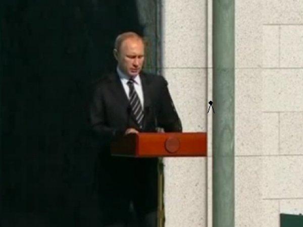 Путин открыл Соборную мечеть в Москве (фото)(видео)