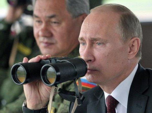 Путин посмотрел на уничтожение условных террористов на военных учениях «Центр-2015»