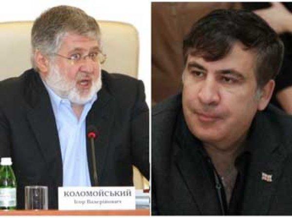 """Коломойский назвал Саакашвили """"сопливым наркоманом"""" и """"собакой без намордника"""""""
