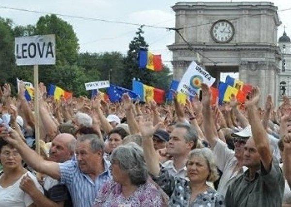 Протестующие в Молдавии намерены создать собственную партию