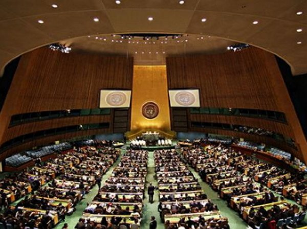 Делегация Украины покинула заседание Генассамблеи ООН во время речи Путина