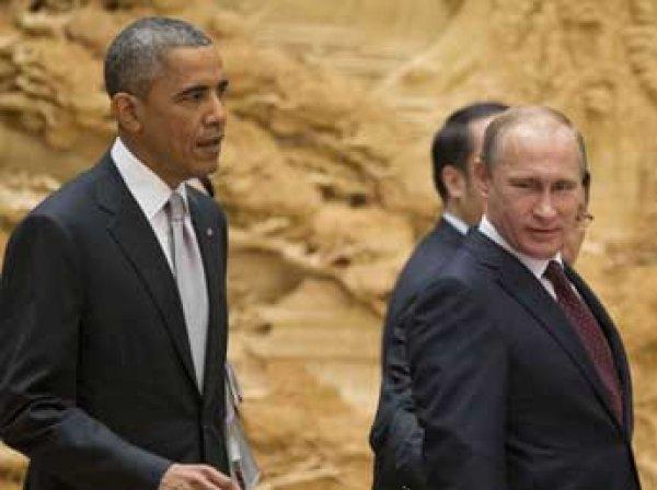 СМИ узнали о скорой встрече Путина с Обамой