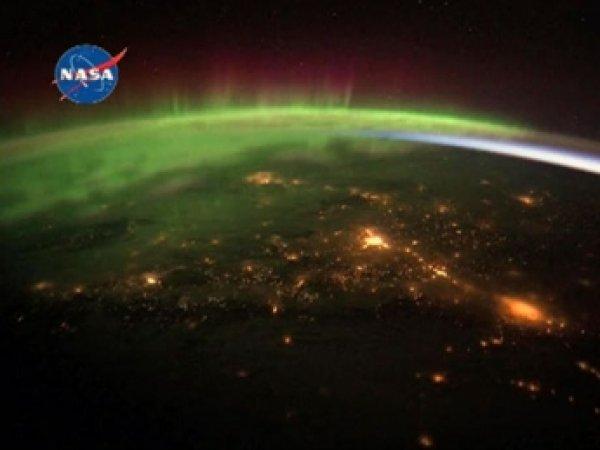 Астронавт NASA сфотографировал северное сияние из космоса