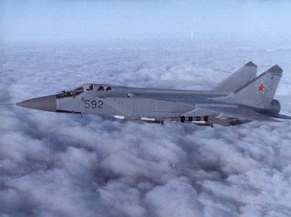 На Камчатке с радаров пропал истребитель-перехватчик МиГ-31