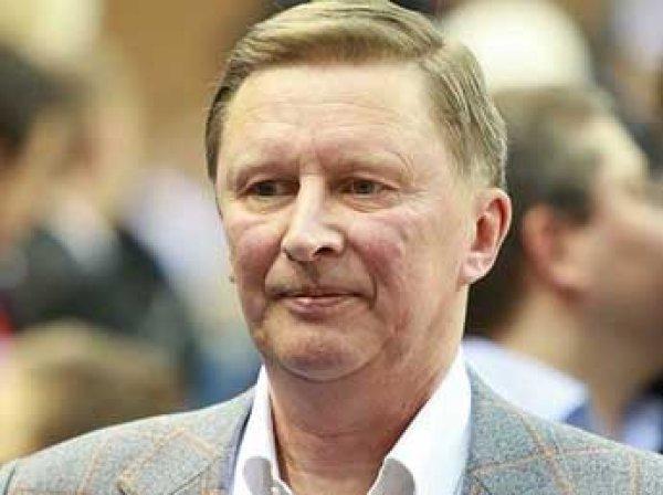 Глава администрации Кремля Иванов рассказал о причинах начала спецоперации в Сирии